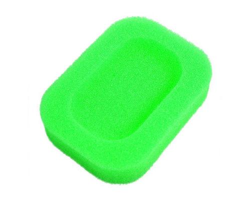 Porte-savon Éponge coloré Vert 01