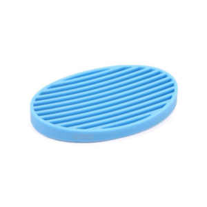 Oval colored soap dish | Blue