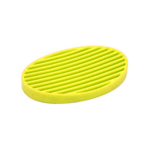 Oval colored soap dish | Yellow