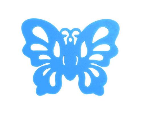 Sous-bock Papillon Bleu 01
