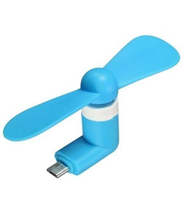 Ventilateur pour Smartphone_Bleu 01