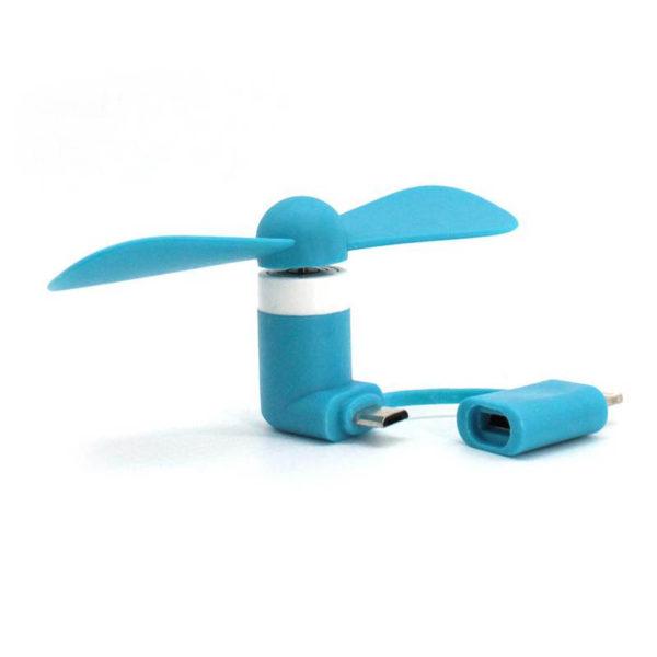 Ventilateur pour Smartphone_Bleu 03