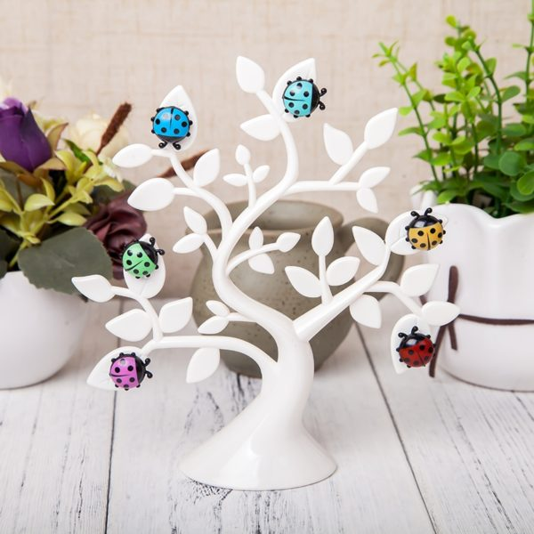 Magnetic Photo Tree | White