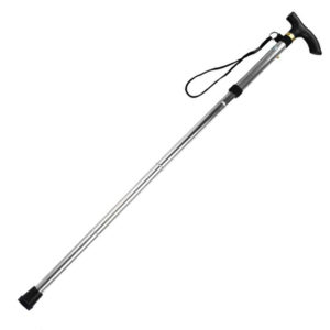 Lightweight foldable walking stick | Silver