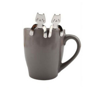 Cuillère à café Chat futée 03