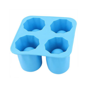 Silicone mold of frozen shooters | Blue