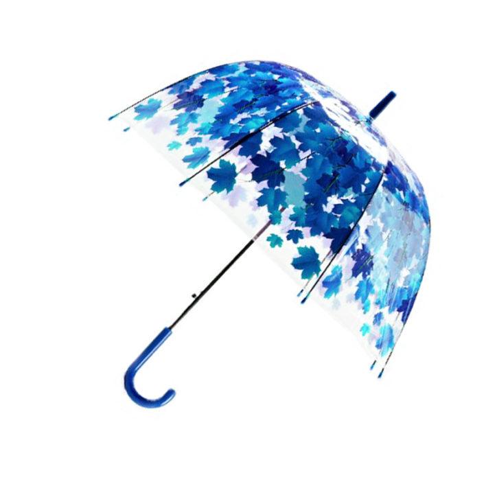 Parapluie feuillage Bleu 01