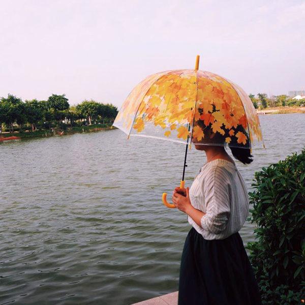 Foliage Umbrella | Red