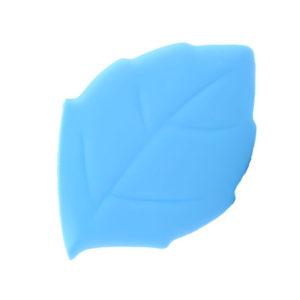 Verre pliable en silicone en forme de feuille Bleu 01