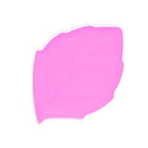 Verre pliable en silicone en forme de feuille Rose 01