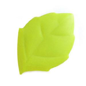 Verre pliable en silicone en forme de feuille Vert 01