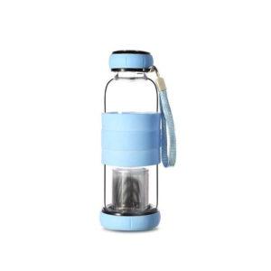 Bouteille Infuseur à thé 420ml Bleu 01