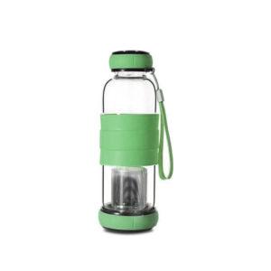 Bouteille Infuseur à thé 420ml Vert 01