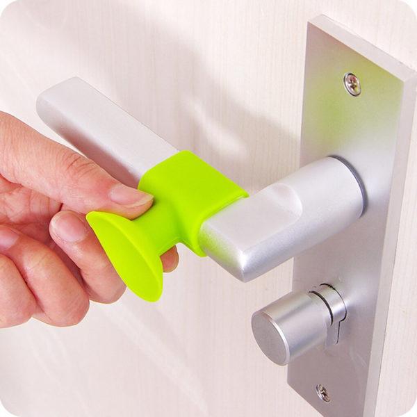 Butée de porte pour poignée Vert 02