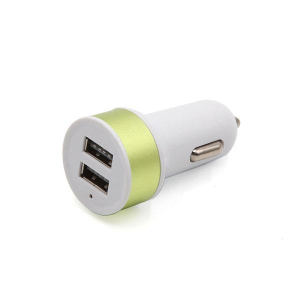 Chargeur de voiture 2 ports USB_Or 01