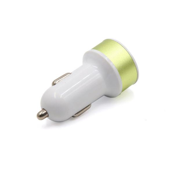 Chargeur de voiture 2 ports USB_Or 02