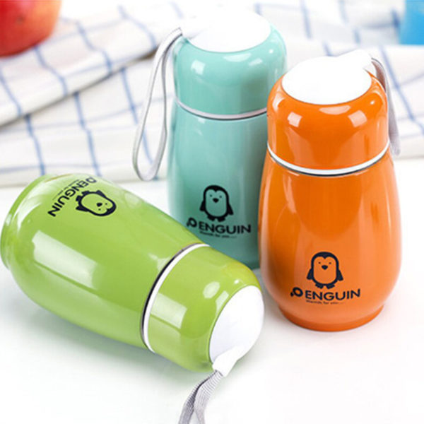 Portable Mini Thermos Playful | Pink