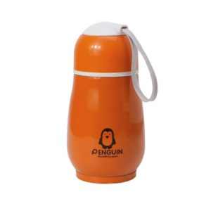 Portable Mini Thermos Playful | Orange