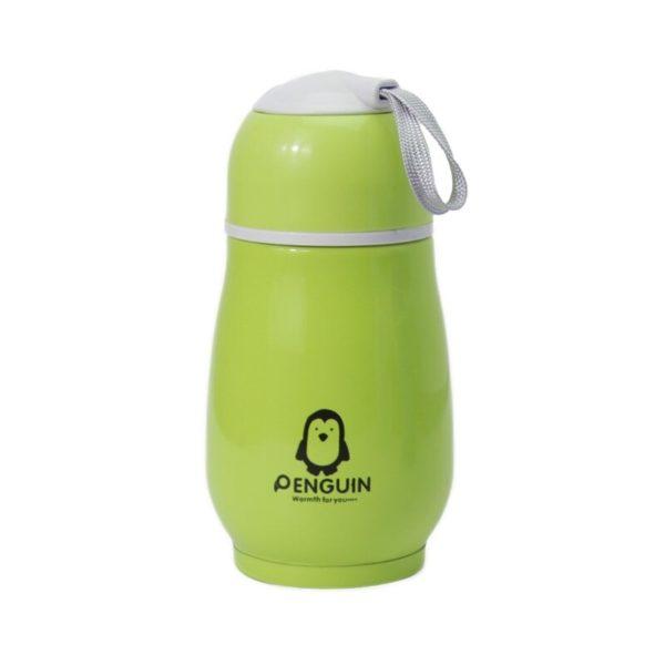 Portable Mini Thermos Playful | Green