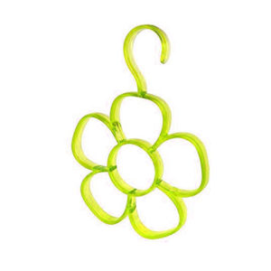 Flower scarf holder | Yellow