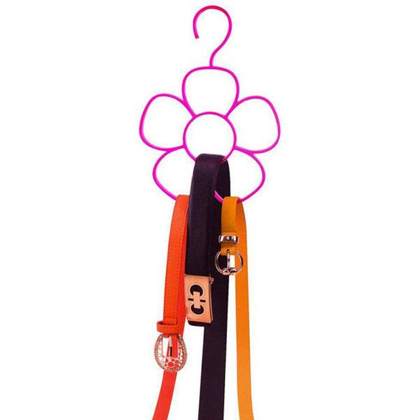 Porte-foulard Rose 02