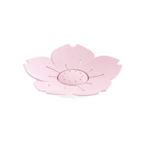 Porte-salon Fleur Rose 01
