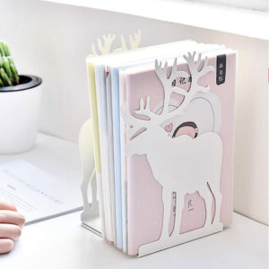 Moose Book Holder | White