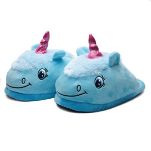 Unicorn Kids Slippers | Blue