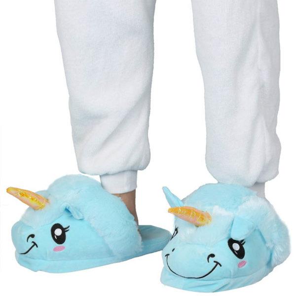 Unicorn Kids Slippers | Blue