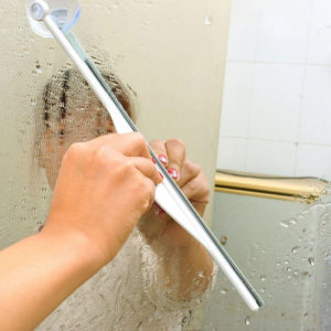 Wiper for bathroom