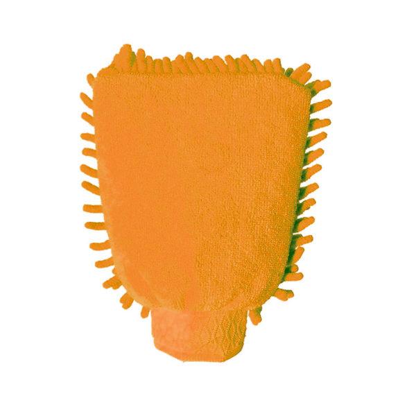 Gant dépoussiérant coloré Orange 02