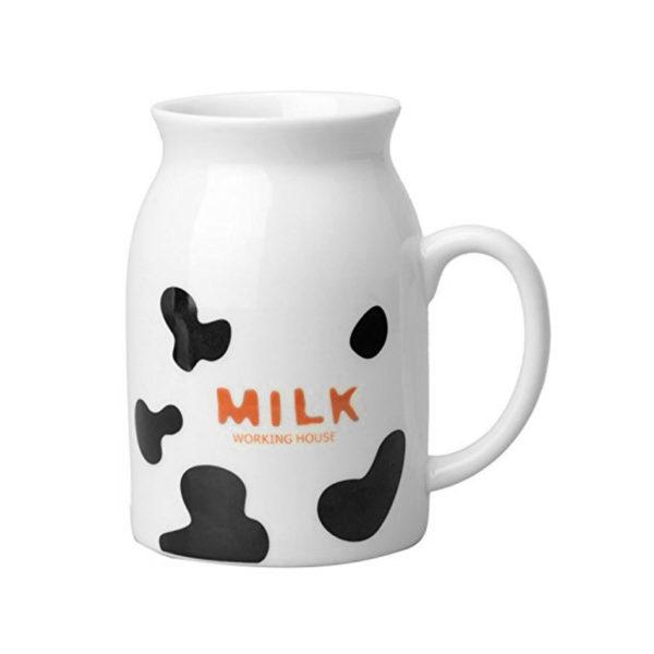 Pichet de lait Taches de vache 01