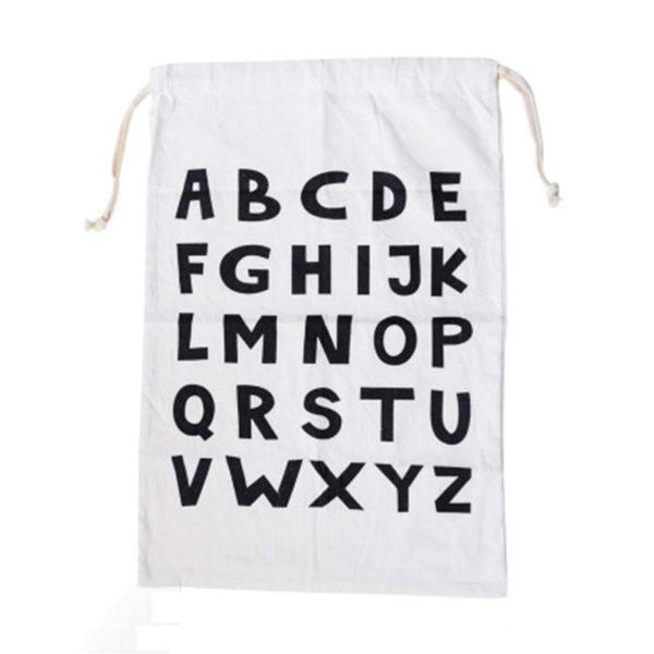 Sac à linge ludique Alphabet 02