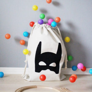 Playful laundry bag | Batman