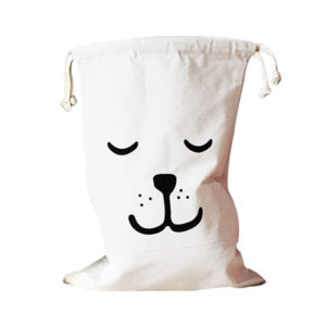 Playful laundry bag | Dog