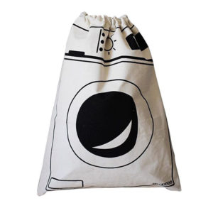 Playful laundry bag | Washing machine