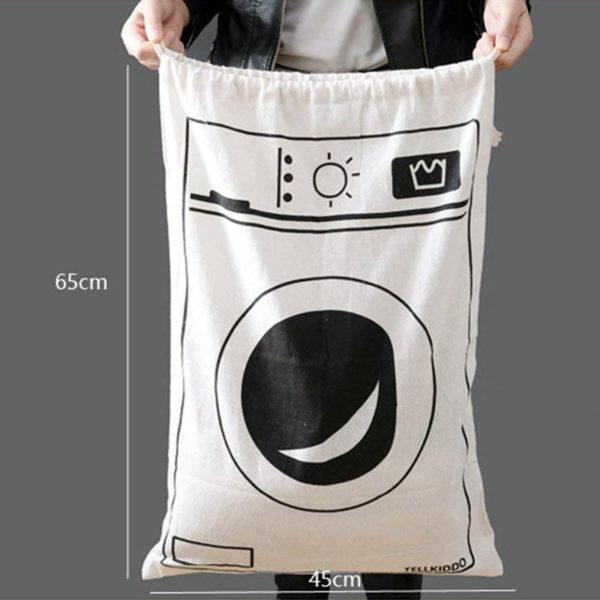 Sac à linge ludique Machine à laver 03