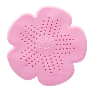 Attrape-cheveux Fleur Rose 01