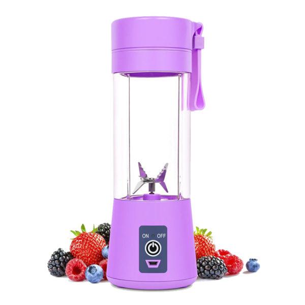 Blender portable USB coloré Violet 02