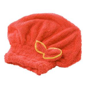 Bonnet sèche-cheuveux_Orange 01