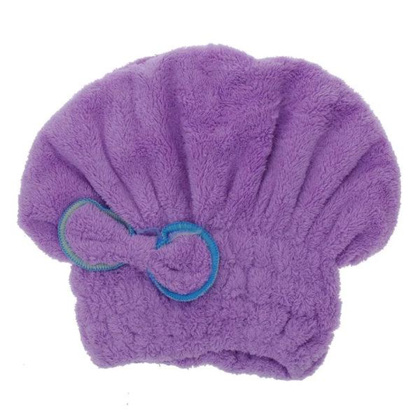 Bonnet sèche-cheuveux_Violet 01