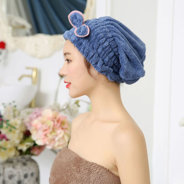 Bonnet sèche-cheveux_Bleu 01