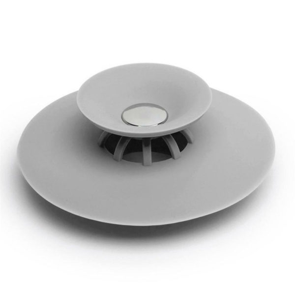 Magic silicone sink stopper | Grey