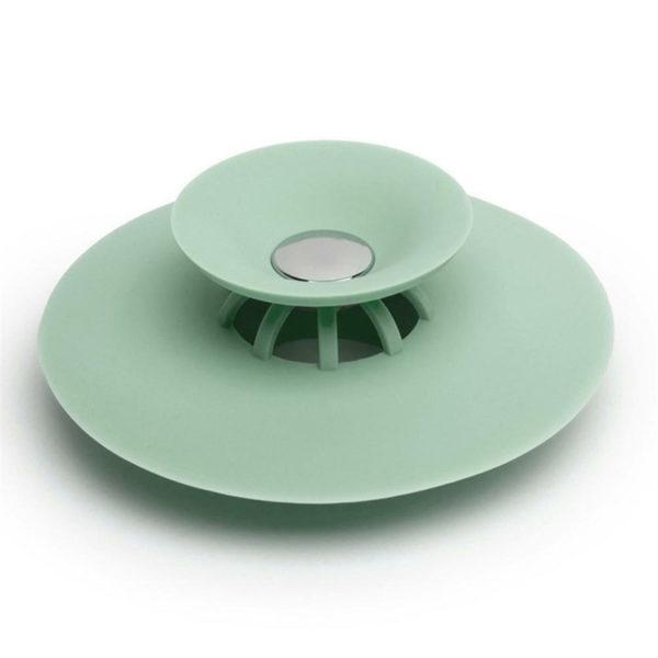 Bouchon d'évier magique en silicone | Vert