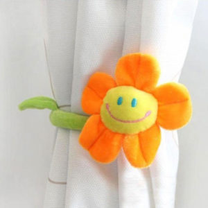Embrasse souriante fleur Orange 01