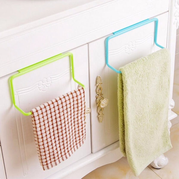 Color Multifunction Towel Bar | Green