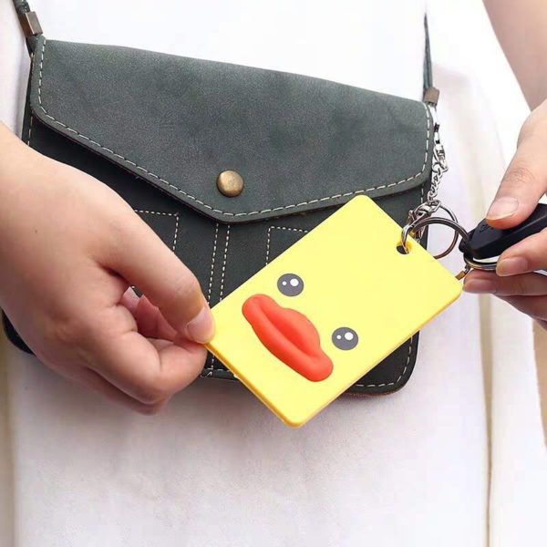 Fun card holder | Duck