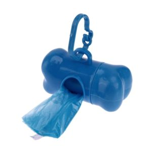 Doggy poop bag dispenser | Blue