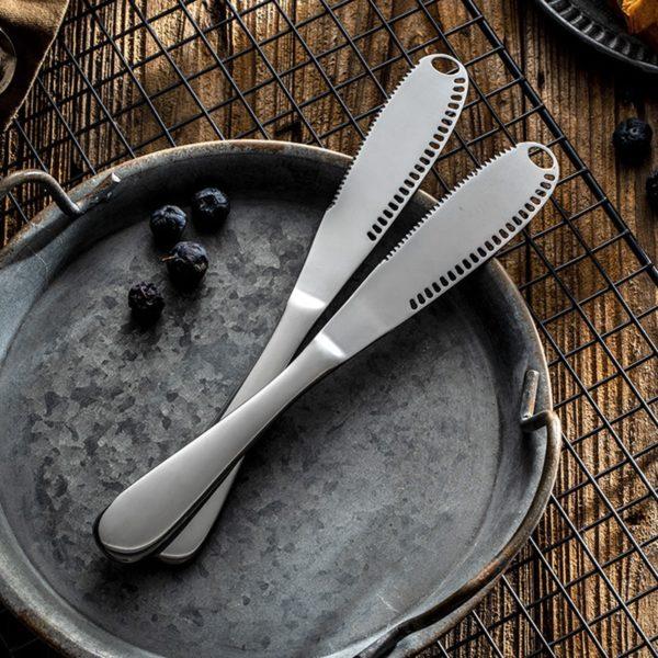 Couteau à beurre multifonction Inox 04
