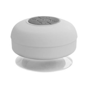 Hands-free waterproof Bluetooth speaker | White